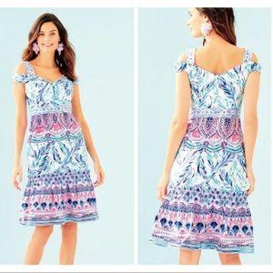 Lilly Pulitzer Iva Midi Dress Size 10